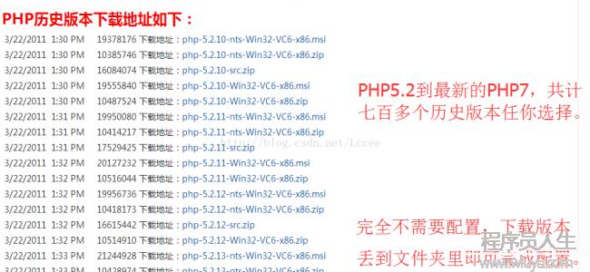 PHP绿色集成环境共生模式与多开案例,PHPWAMP多档位综合教程。