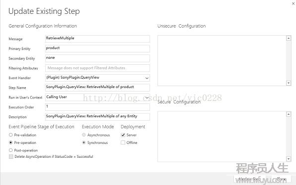 Dynamics 365Online  通过插件中的retrievemultiple消息来过滤产品视图