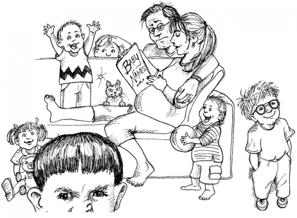 小孩看书简笔画步骤